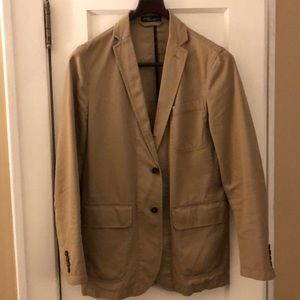 Ralph Lauren Polo Men's Cotton Jacket Tan Khaki S